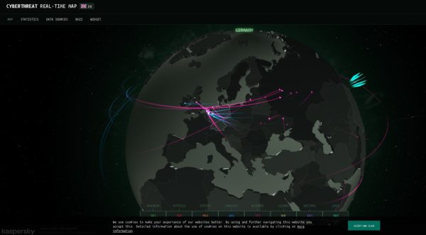 CYBERTHREAT RIAL-TIME MAP
