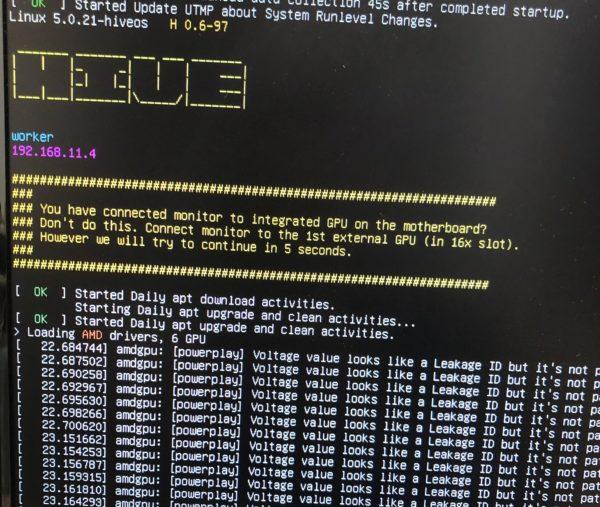 HiveOSのセットアップ