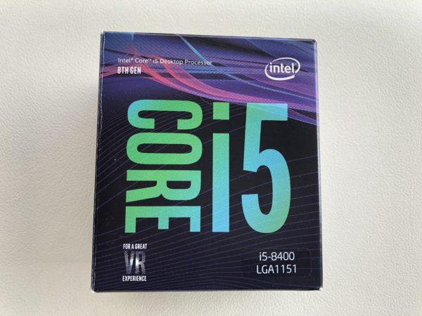 【交換したCPU】intel Core-i5 8400