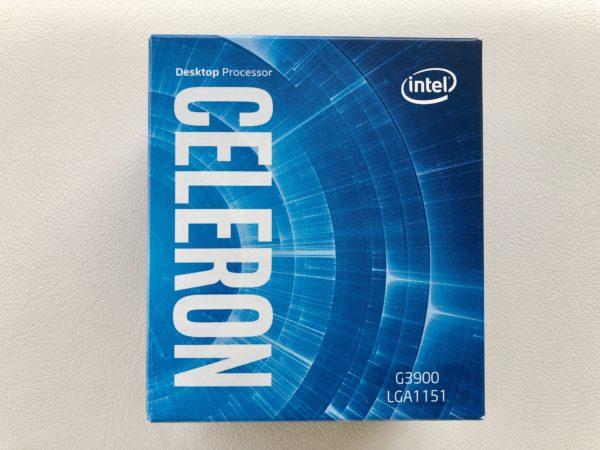 【稼働中のCPU】intel Celeron G3900