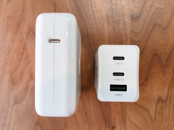iPhoneなど複数の同時充電にも対応!